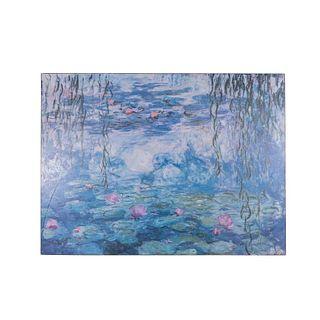 """""""Nenúfares"""". Reproducción de la obra de Claude Monet. Impresión. Sin enmarcar."""
