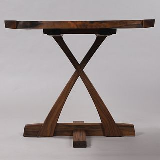 Live Edge Walnut Cafe/Game Table