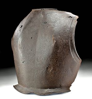 18th C. German Iron Cuirass Back Plate