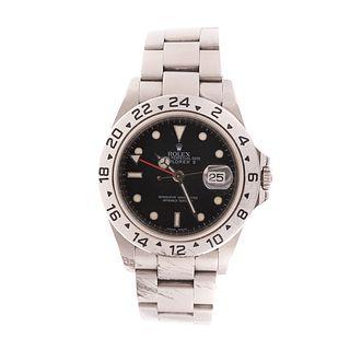 A Men's Rolex Explorer II Wrist Watch