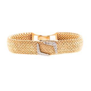 A Lady's Vintage Kent 14K Yellow Gold Wristwatch