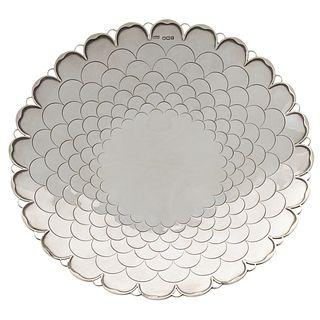 George VI Silver Dish