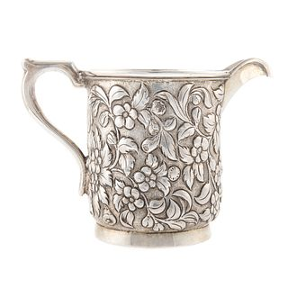 S. Kirk & Son Sterling Silver Repousse Creamer