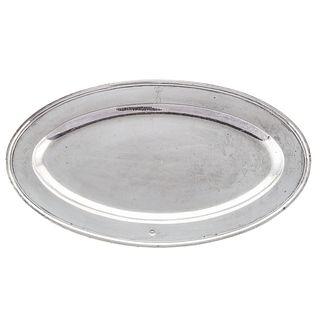 Silver Serving Dish from Eugene de Beauharnais