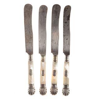 18 Silver-Mounted Knives: Eugene de Beauharnais