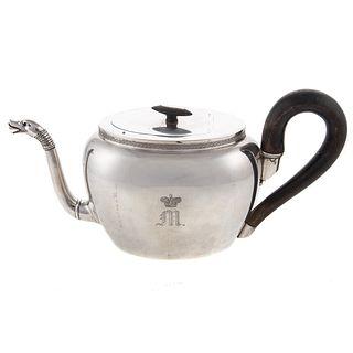 Silver Teapot from Maximilian de Beauharnais