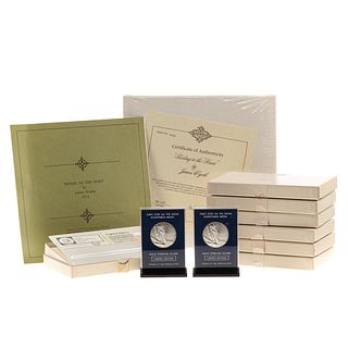 Franklin Mint Silver Collection