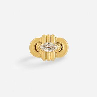 David Webb, Diamond and gold ring