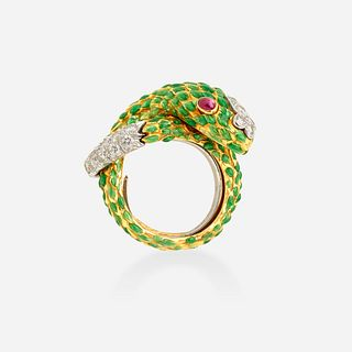 David Webb, Serpent ring