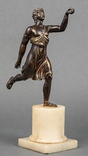 Grand Tour Neoclassical Bronze Sculpture