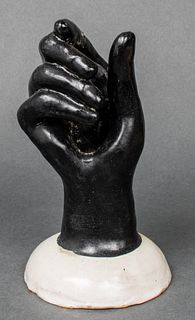 Vietri Italian Earthenware Pottery Hand Sculpture