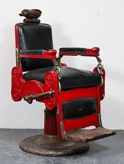 Vintage Koken Barber's Supply Co. Chair