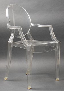 "Philippe Starck for Kartell ""Lou Lou Ghost"" Chair"