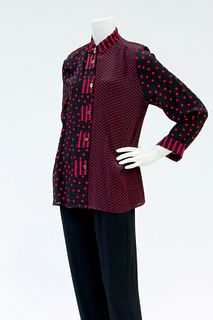 Mixed Pattern Swingy Top (S, M, L)