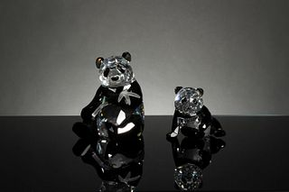 Swarovski, Boxed SCS Endangered Wildlife Pandas