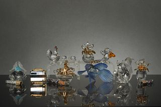 Swarovski, 10 Boxed Miniatures, Inc. Secrets, etc.