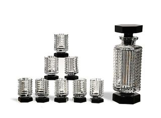 Baccarat, Art Deco Decanter Set