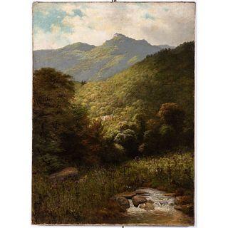 A Mountain Landscape, Possibly Scottish