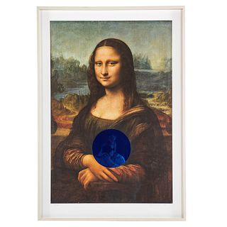 "Jeff Koons. ""Gazing Ball,"" archival pigment print"