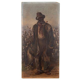 """William Aiken Walker. """"Possum Hunter,"""" oil"""