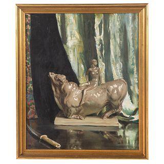 Raymond P.R. Neilson. Still Life, oil on canvas