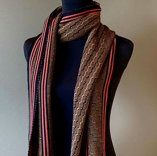 Deep V/Steps Shawl - This piece has sold but I can make one to order for you!
