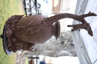 """Rip & Alison Caswell - """"Hanging in There"""" Bronze Cast 3"""