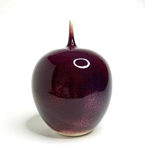 Ox Blood Vase #1