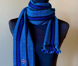FreeChex Scarf- This scarf has sold but I can make another one identical to this one.