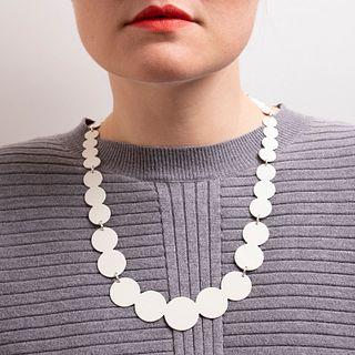 13pc Pearl Necklace in cream