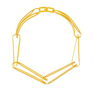 Long Link Side Chain in yellow