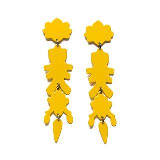 Chandelier MAX 09 Earrings in yellow