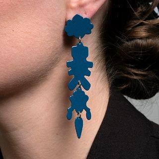Chandelier MAX 09 Earrings in teal