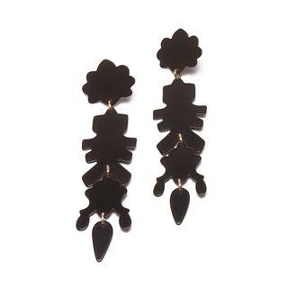 Chandelier MAX 09 Earrings in black