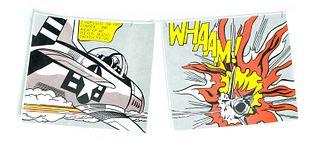 Lichtenstein Diptych Whaam! Tate Gallery Signed