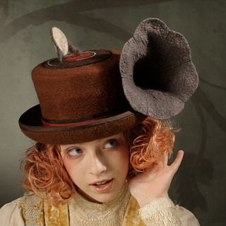 'Her Mistresses Voice' - Phonograph Top Hat