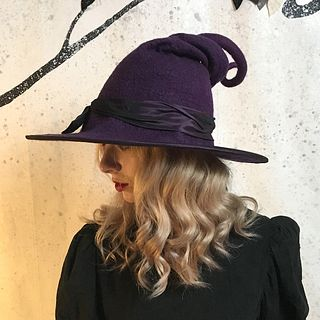Purple Witch or Wizard Hat