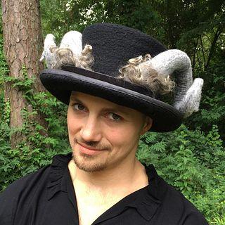 Rams Horn Top Hat