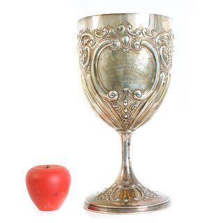 Joseph Rogers, Sterling Trophy Chalice 28.2 OZ