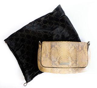 Gucci Python Clutch Purse