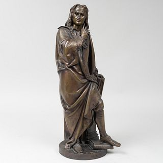 Albert-Ernest Carrier-Belleuse (1824-1887): John Milton