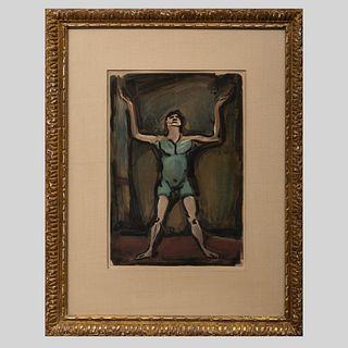 Georges Rouault (1871-1958): Le Jongleur