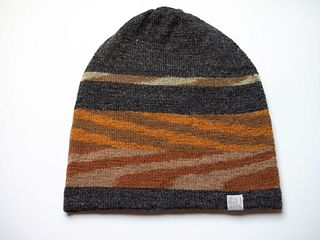 Chevron Slouch Hat #6 – Curly Hair Friendly