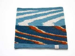 Wide Headband: Indigo Layers #3