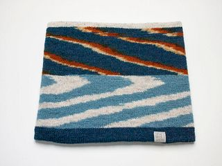 Wide Headband: Indigo Layers #4