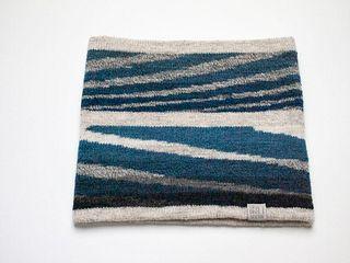 Wide Headband: Indigo Layers #2