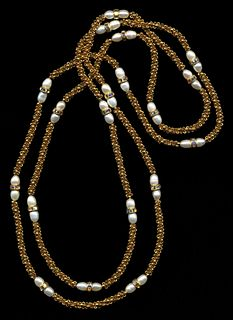 Chain with Pearls