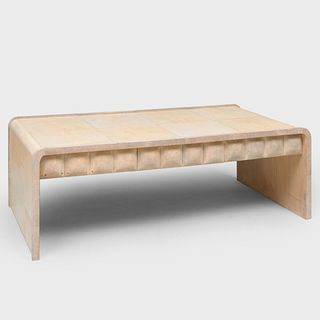 R&Y Augousti Parchment and Shagreen Low Table