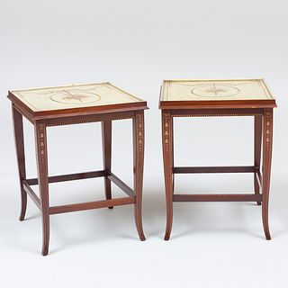 Pair of Edwardian Painted Side Tables