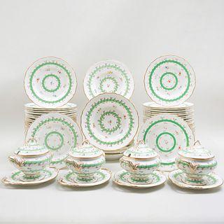 English Porcelain Part Dinner Service